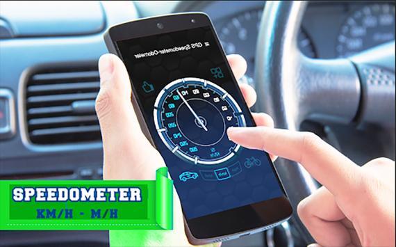 GPS Speedometer Odometer -Trip Meter screenshot 1