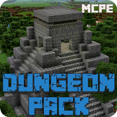 Dungeon Pack Mod for Minecraft PE icon
