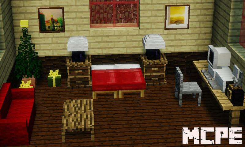 . MrCrayfish s Furniture Mod for Minecraft PE for Android   APK Download