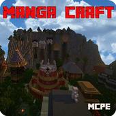 MangaCraft The village of Konoha Map for MCPE icon