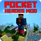 Pocket Heroes Mod for Minecraft PE icon