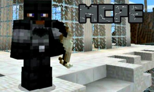 Pocket Heroes Mod for Minecraft PE poster