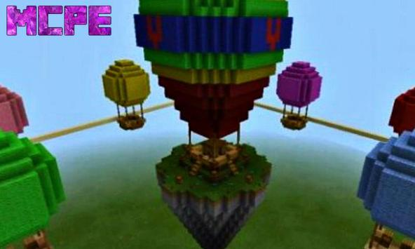 SkyWars Yupai Map for Minecraft PE poster