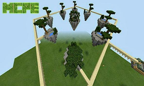 SkyWars Yupai Map for Minecraft PE apk screenshot