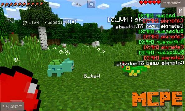 Pixelmon Mod for MCPE poster