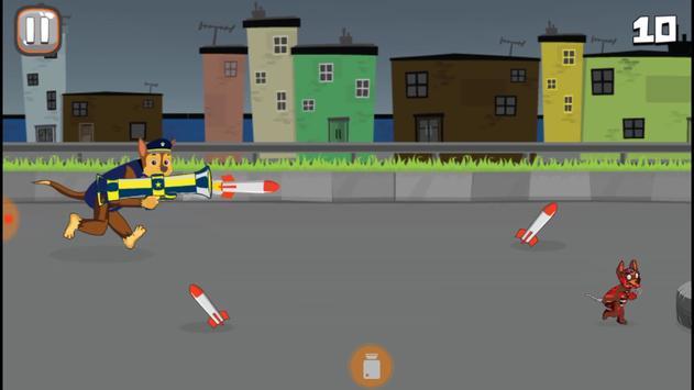 Paw Puppy Patrol Bazooka screenshot 1