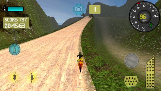 Mountain Motocross Simulator screenshot 8