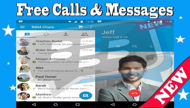 Free BBM Calls & MessagesTips poster