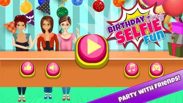 Birthday Party - Selfie Star screenshot 1