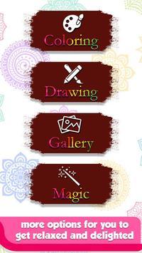 Doodle Coloring Mandala Book screenshot 4