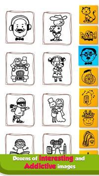 Doodle Coloring Mandala Book screenshot 5