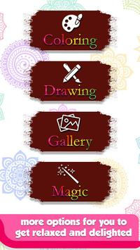 Doodle Coloring Mandala Book screenshot 14