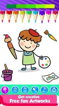 Doodle Coloring Mandala Book screenshot 2