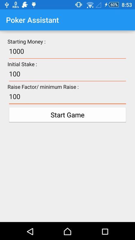 Poker assistant android / Fuchs blackjack mk11