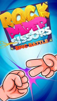 Rock Paper Scissor Epic Battle poster