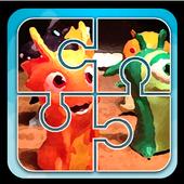 Super Slugs Toy Jigsaw Puzzle icon