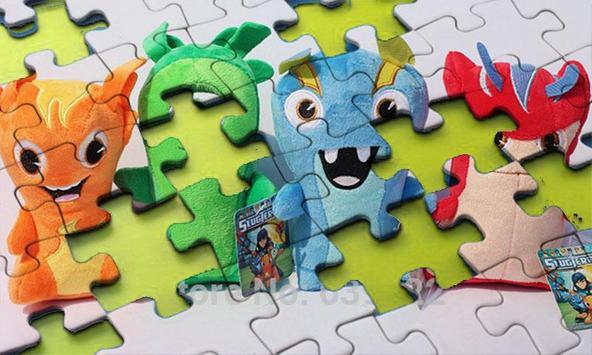 Super Slugs Toy Jigsaw Puzzle screenshot 5