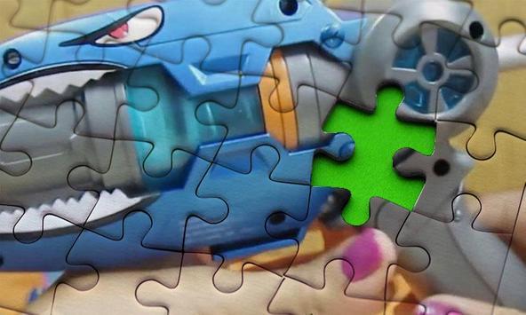 Super Slugs Toy Jigsaw Puzzle screenshot 2