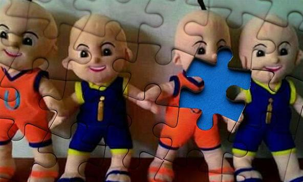 Jigsaw Upin Toy Puzzle screenshot 7