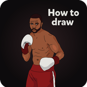 Draw Boxing Legends icon