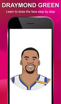 Draw NBA Basketball - Players, Face, Dunk & Coach screenshot 13
