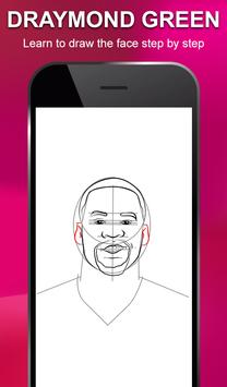 Draw NBA Basketball - Players, Face, Dunk & Coach screenshot 5