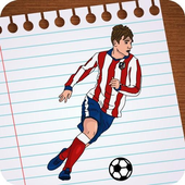Draw Football Players 3D icon