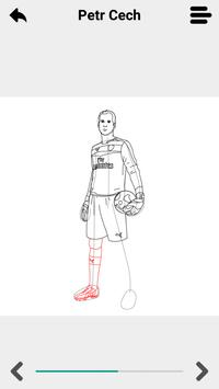 Draw Football Players 3D poster