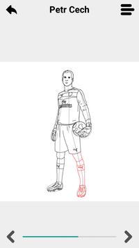 Draw Football Players 3D screenshot 1