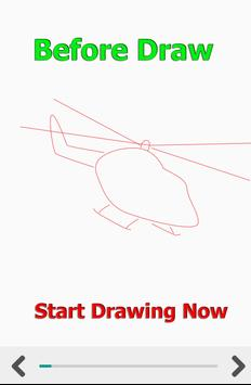 How to Draw Car Fire Helicopter Ambulance screenshot 2