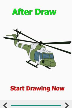 How to Draw Car Fire Helicopter Ambulance screenshot 3