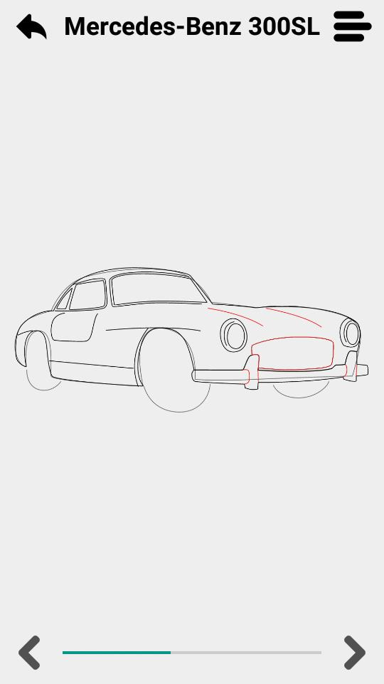 Cómo dibujar coches for Android - APK Download