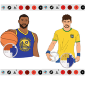 Color by Numbers Or Draw Famous Players icon