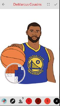 Color by Numbers Or Draw Famous Players screenshot 3