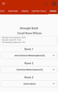 Bloodborne Character Planner screenshot 6