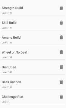 Bloodborne Character Planner screenshot 7