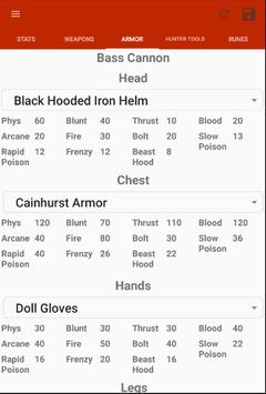 Bloodborne Character Planner screenshot 16