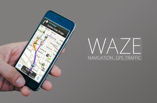 GPS Waze Traffic , navigation and alerts Tips screenshot 1