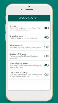 Message Reader For WhatsAp screenshot 3