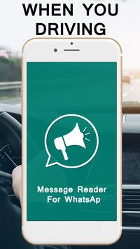 Message Reader For WhatsAp poster