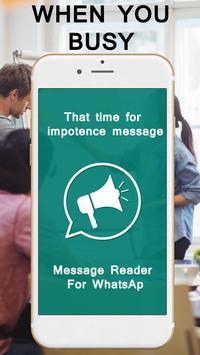 Message Reader For WhatsAp screenshot 1