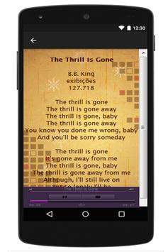 B.B. King Lyrics apk screenshot