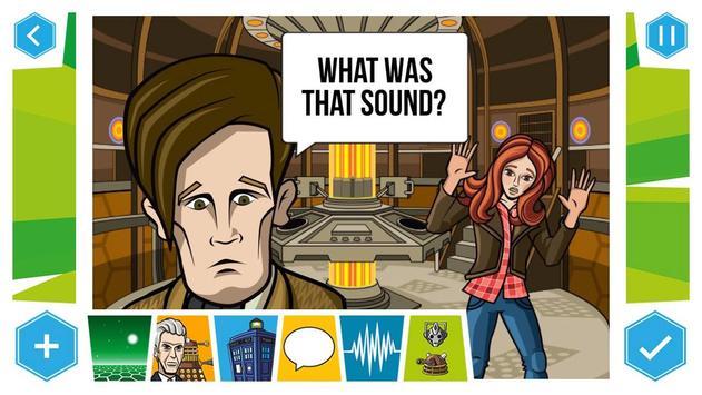 Doctor Who: Comic Creator screenshot 1