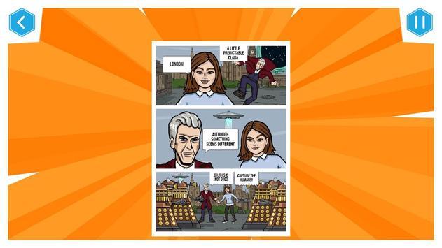 Doctor Who: Comic Creator screenshot 2
