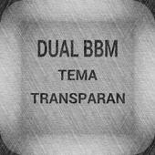 Dual BM Tema Transparan icon