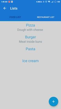 Food Selector screenshot 1