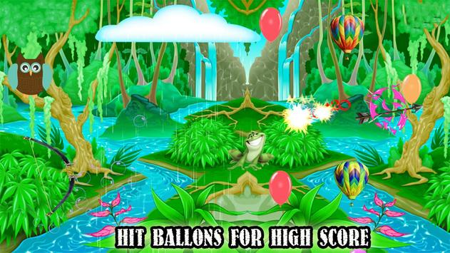 Real Crossbow Balloons shooter poster