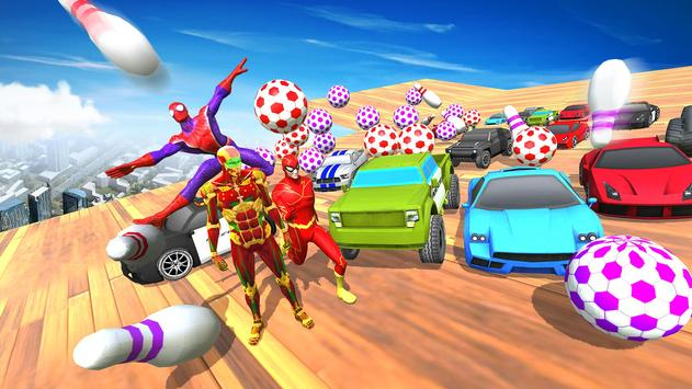 Impossible Mega Ramp Car Stunts Racing Drive poster