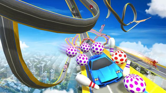 Impossible Mega Ramp Car Stunts Racing Drive screenshot 4