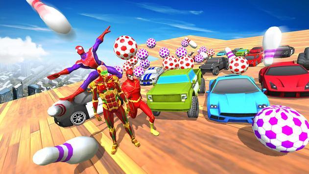 Impossible Mega Ramp Car Stunts Racing Drive screenshot 5
